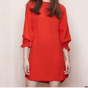 Maje Realiste Mini shift dress